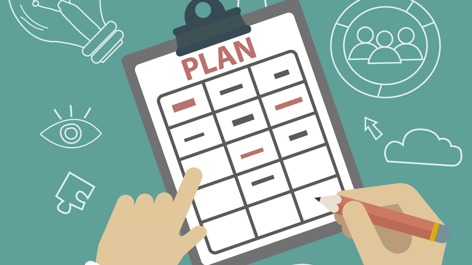 event planning business planning- Designed by Freepik