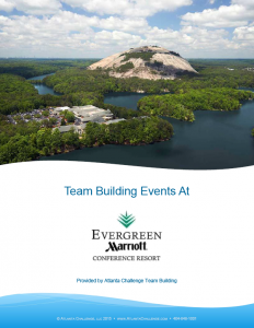 Stone Mountain Team Building Events Catalog