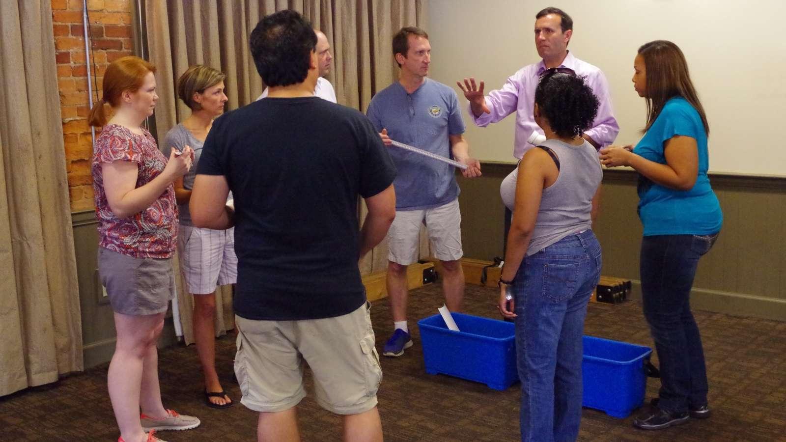 hands-on teamwork challenges