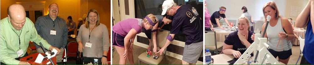 fun indoor catapult team building activity for breaking down silos