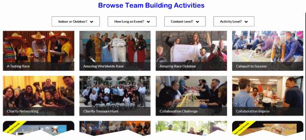 Find Atlanta Team Building Activities